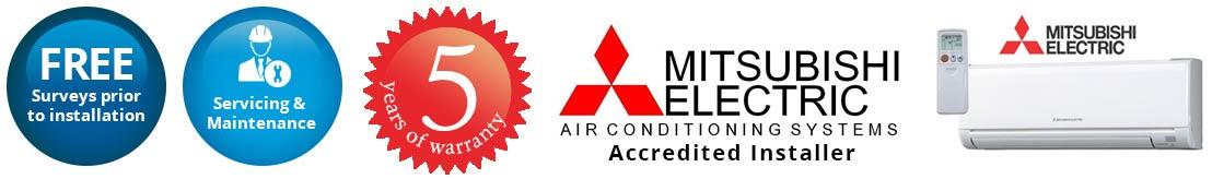 mitsubishi air conditioning slough